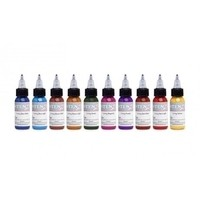Intenze Color Lining Ink Series 10 Bottle Set