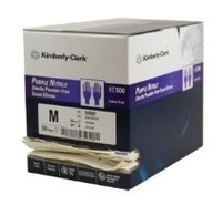 Kimberly Clark Sterile Purple Nitrile Gloves