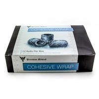 Medical Cohesive Wrap by Precision - 12 Rolls