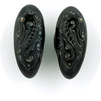 Naga Laut in Black Water Buffalo Horn
