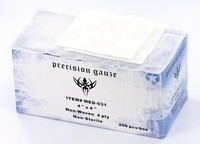 "Precision 4"" x 4"" Gauze - 200 Per Box"