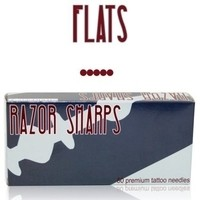 Razor Sharps - Premium Tattoo Needles - Flats