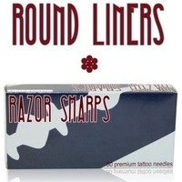 Razor Sharps - Premium Tattoo Needles - Round Liners