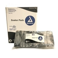 "Soaker Pads - 4"" x 7"" - 500 Count Bag"