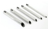 Stainless Steel Receiving Tube for Body Piercing