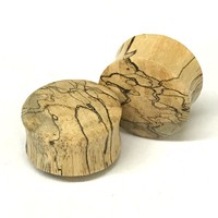 Tamarin Wood Dome Style Plugs