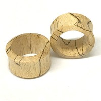 Tamarin Wood Double Flared Tunnels