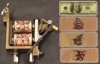 Tattoo Machine Coil Sticker Covers