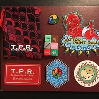 Tattoo Paint Roll (TPR) Dice - Japanese Set - 6 Dice