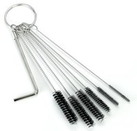 Tattoo Tube Cleaning Brushes - 6 Piece Set with Allen Wrench