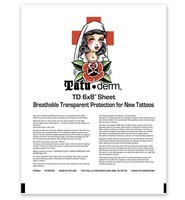 "Tatu-Derm by Tatu-You - 6"" x 8"" Sheet"