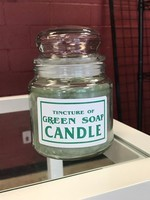 Tincture of Green Soap Scented Jar Candle