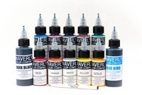 12 Bottle Sample Tattoo Ink Set - Waverly Color Company