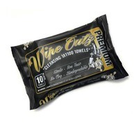 Wipe Outz™ Dry-Black Sterilized Tattoo Towels 10 Ct Pack