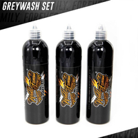 World Famous Tattoo Ink - 3 Bottle Greywash Set