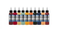 Ben Kaye 10-Color Palette Signature Set - Fusion Tattoo Ink