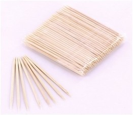 120 Wooden Toothpicks for Marking Piercings