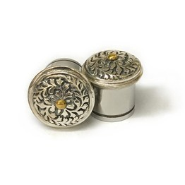 316LVM Steel Eyelet with Sterling Silver and Brass
