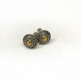 316LVM Steel Plug with Traditional Balinese Stud - SK8