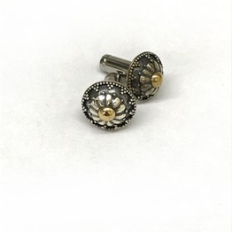 316LVM Steel Plug with Traditional Balinese Stud