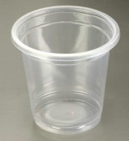 3oz Plastic Cups - Sleeve of 50