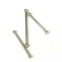 8g Industrial Length Steel Straight Barbell