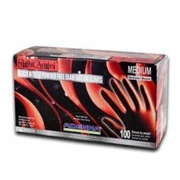 Adenna Night Angel Black Nitrile Gloves