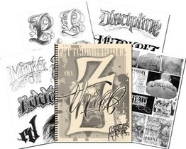 BJ Betts Lettering Guide Volume 3