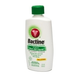 Bactine - Anesthetic & Antiseptic - 4oz. Bottle