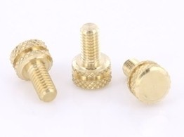 Brass Front Binding Post Screw - Version 2