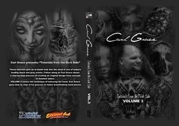 Carl Grace DVD Volume 3 - Tales from the Darkside - Hand Tattoos