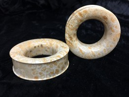 Classic Eyelets in Fossilized Coral - STE9B