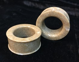 "Classic Eyelets in ""Gem Quality"" Fossilized Coral"