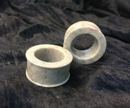 "Classic Eyelets in ""Whiff"" Grey Fossilized Coral"