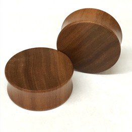 Classic Plugs in Saba Wood