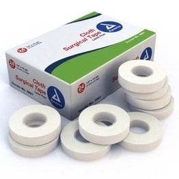 "1/2"" x 10yds Cloth Surgical Tape by Dynarex"
