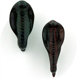 Cobra India in Black Water Buffalo Horn