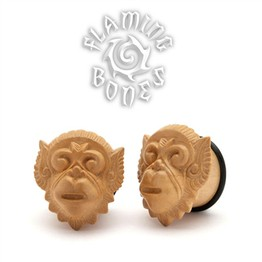 Coffee Wood Hanuman Plugs