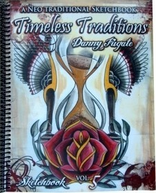 Danny Fugate - Timeless Traditions - A Neo-Traditional Sketchbook