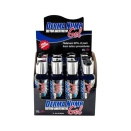 Derma Numb Tattoo Numbing Gel – Case of 12 2oz Bottles