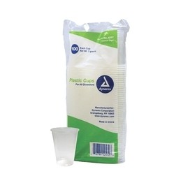 Dynarex - 7oz Plastic Cups - Bag of 100