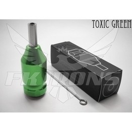"FK Irons AL13 RPG Cartridge 1"" Grip - Toxic Green"