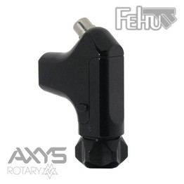 Fehu Rotary Tattoo Machine by Axys Rotary - Black