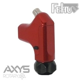 Fehu Rotary Tattoo Machine by Axys Rotary - Red