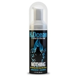 H2Ocean Nothing Pain Relieving Foam Soap with Lidocaine – 1.7oz Bottle