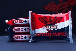 MEDTATT Tattoo Wipes - Pack of 15
