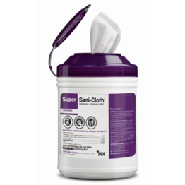PDI Super Sani-Cloth - Purple Top - High Alcohol Content