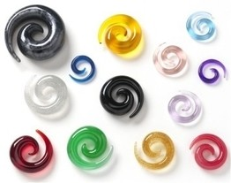 Flaming Bones Pearl Essence Translucent Acrylic Spirals