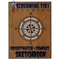 Pocketwatch Compass Sketchbook by Pete Smith