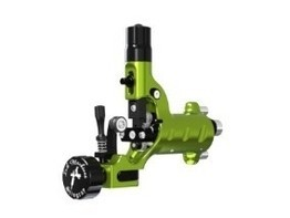 Stingray X2 Rotary Tattoo Machine by Ink Machines in Slime Green